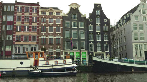 Canals of Amsterdam Footage