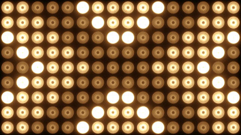Flashing Lights Wall Animation