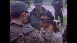 Vietnam War - Field Interrogation Of Suspected Vietcong 1966 Filmmaterial