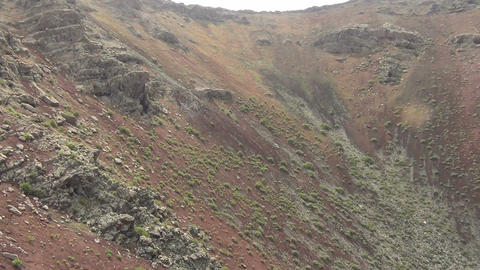 Volcano crater of Monte Corona Live Action