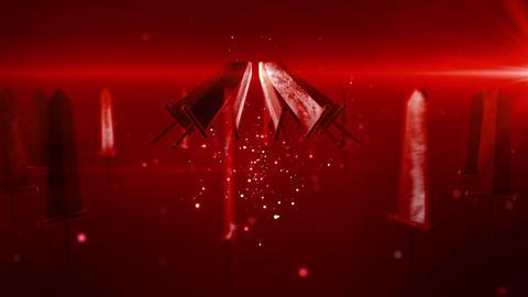 SHA Sword BG Red Animation