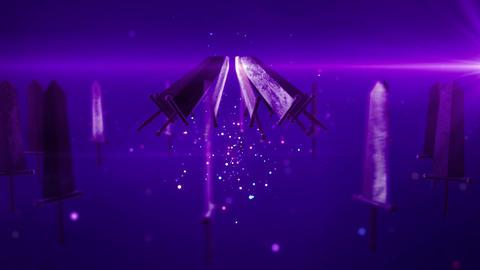 SHA Sword BG Violet Animation