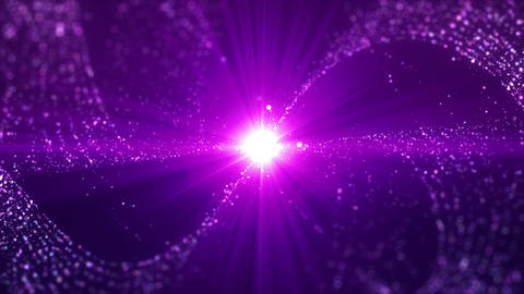 SHA Particle Effects Violet CG動画素材