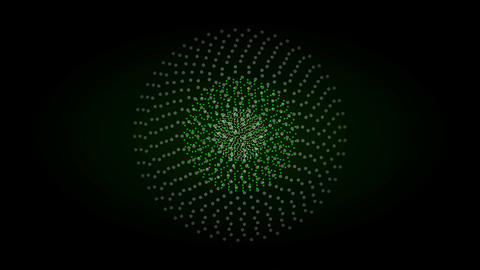 Abstract trance firework pattern background Animation