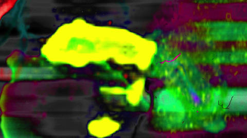 Colored Noise Film Leader Transition Flickering Abstract Background Animation
