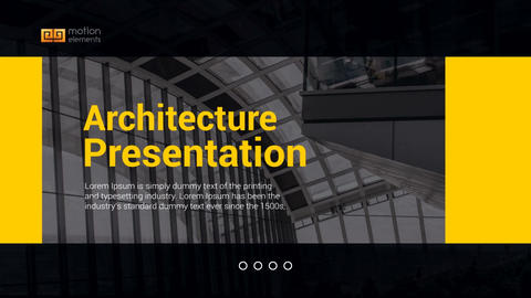 Architecture Opener After Effects Template