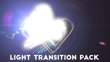 Lines Light Transitions Pack V2 After Effects Templates