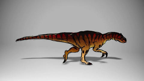 Dinosaurus Animation