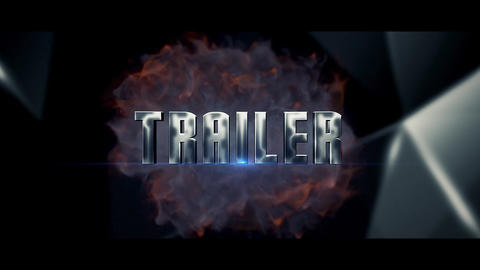 Trailer Silver After Effects Template
