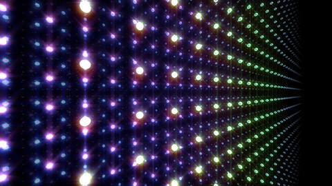 LED Light Space G 5u A 2 HD Stock Video Footage