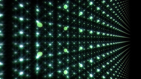 LED Light Space G 5u C HD Stock Video Footage