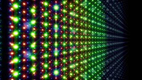 LED Light Space G 5u E 2 HD Stock Video Footage