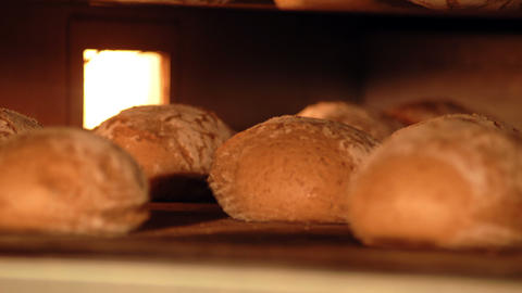 10723 german bakery bake bread time lapse long Stock Video Footage
