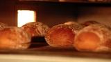 10723 german bakery bake bread time lapse long Footage