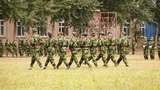 Military Training of Chinese Students 11 Footage