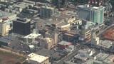 Aerial, Hollywood, California 01 Footage