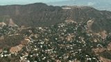 Aerial, Hollywood Sign 02 Footage