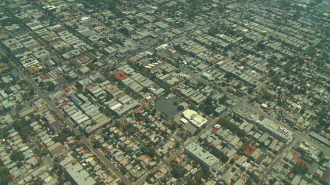 Aerial, Los Angeles, California Stock Video Footage