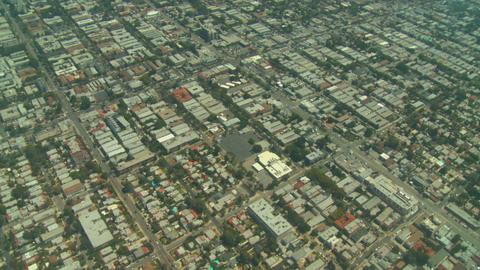Aerial, Los Angeles, California Stock Video Footage