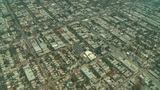 Aerial, Los Angeles, California Footage