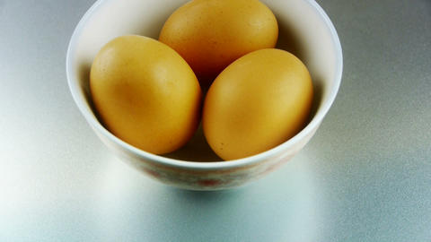 eggs in a bowl Footage