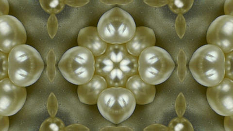 pearl necklace jewelry Stock Video Footage