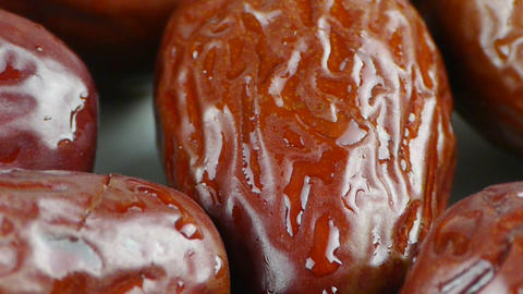 Delicious jujube,grain food Stock Video Footage