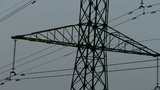 High-voltage wire tower Footage