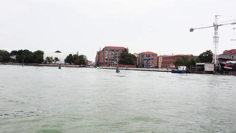 VENICE Lagoon 19 Stock Video Footage
