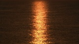 Sunrise over sea, tranquil landscape Footage