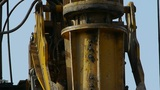 drilling machinery,Construction of city buildings Footage