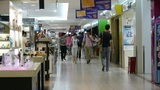 customer in the shopping malls scene,modern city environment Footage