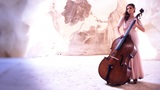 woman play doublebass contrabass jazz orchestra bass play prestige symphonic Footage