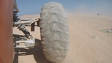 buggy in the desert Footage