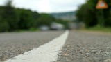 Timelapse movement of vehicles on the road Footage