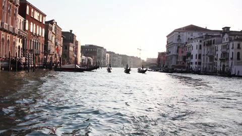 VENICE Canal Grande 2 Stock Video Footage