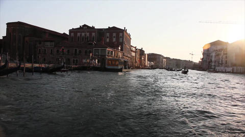 VENICE Canal Grande 4 Stock Video Footage