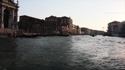 VENICE Canal Grande 4 Stock Video Footage