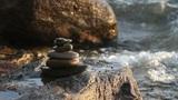 sea zen stones Footage