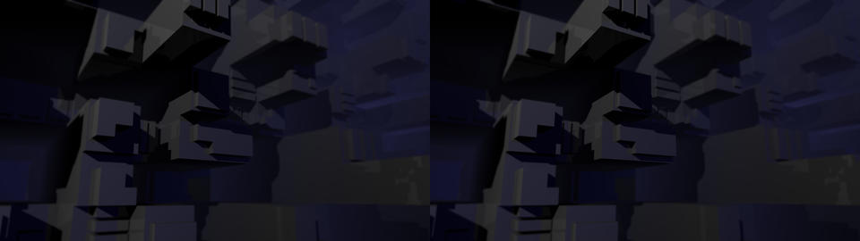 Dark Cubic Background 3D Stock Video Footage