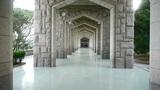 Ornate arches corridor Footage