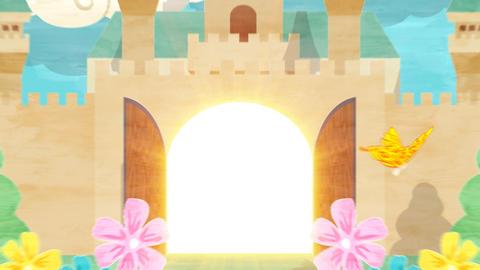 Popup Letter Castle Animation