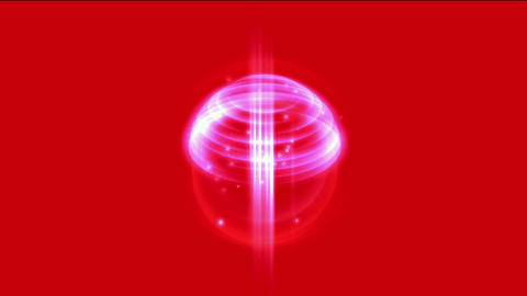 springs light & annulus energy field launch rays... Stock Video Footage