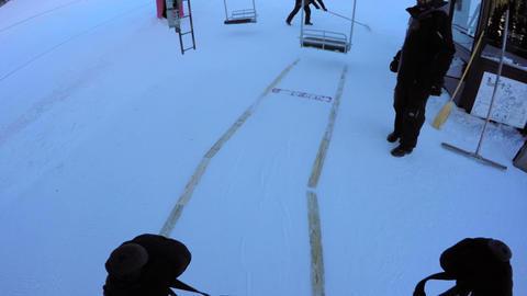 Alpine Skiing Live Action