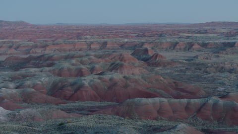 Painted Desert Morning 1 stock footage