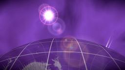 World global news background backdrop planet Earth 4K Footage