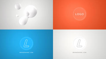 Simple Sphere Logo Reveal After Effects Projekt
