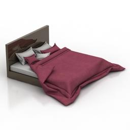 Bed 3 3D Modell