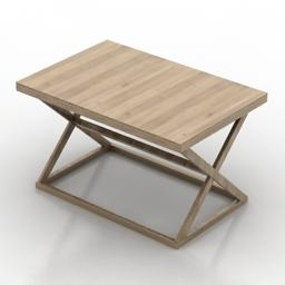 Folding table buy 3D Model
