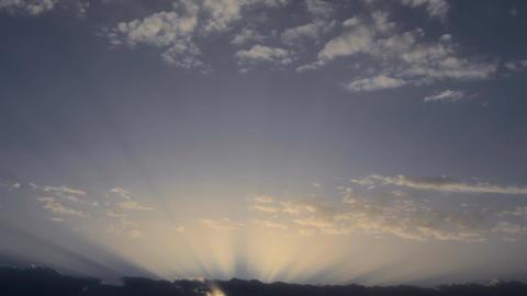 Epic Dramatic Sunrise Footage